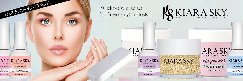 ENSIMMÄISENÄ SUOMESSA: Kiara Sky Dip Powder menetelmä!