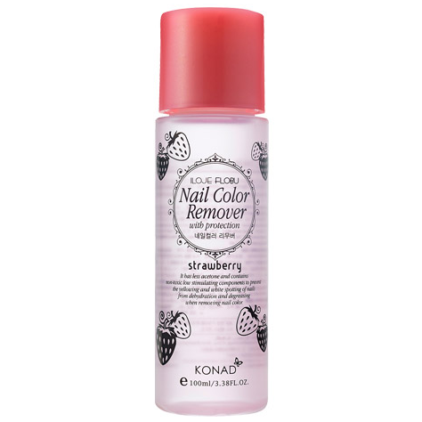 Konad Nail Polish Remover (strawberry) 100ml