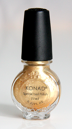Konad Erikoislakka 11ml POWDERY GOLD