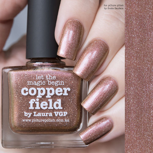 PicturePolish Kynsilakka - COPPER FIELD