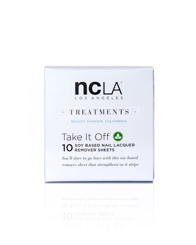 NCLA Hoitotuote- TAKE IT OFF - Soya Based nail Lacquer remover sheets - poistolaput