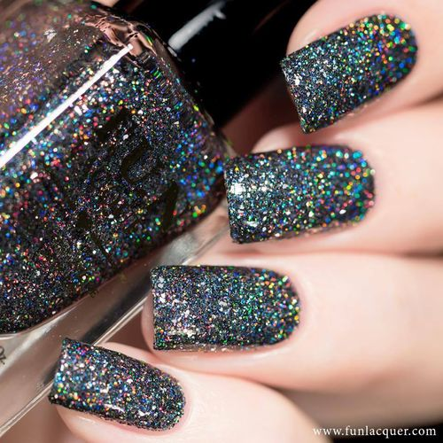 F.U.N Lacquer - Christmas 2016 - SNOW IN THE RAINBOW NIGHTS