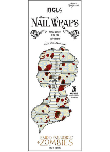 NCLA Nail Wraps - DANGEROUS DARLING