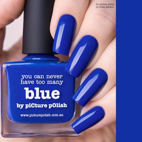 PicturePolish kynsilakka - BLUE