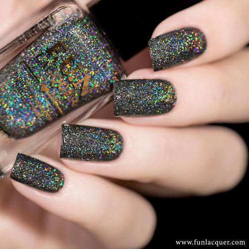 F.U.N Lacquer - Summer 2017 Collection - BLACK DIAMOND