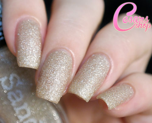 Konad Sandy Polish 12 GLITTER GOLD