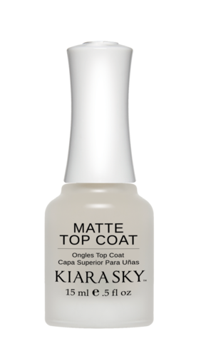 Kiara Sky Matte Nail Polish Top Coat
