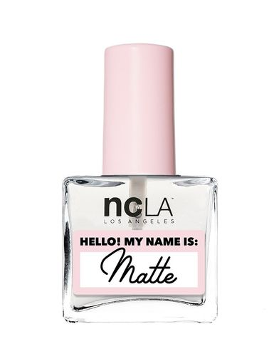 NCLA Treatment - Hello! My Name is: Matte- Top Coat