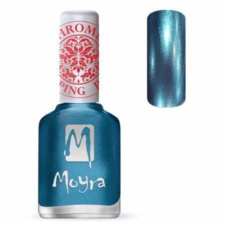 Moyra Leimauslakka SP26 CHROME BLUE