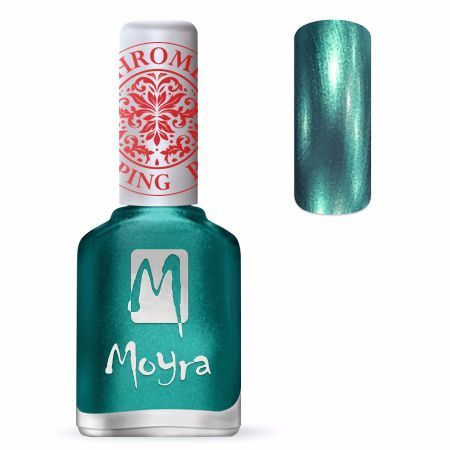 Moyra Leimauslakka SP27 CHROME GREEN