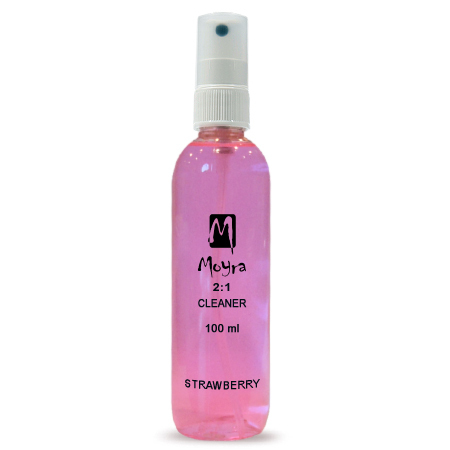 Moyra 2 in 1 Nail Prep Spray Mansikka