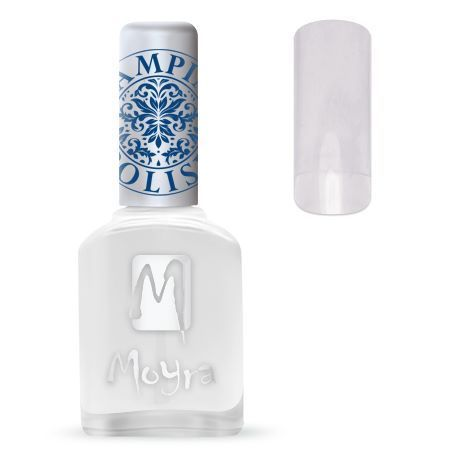 Moyra Stamping Nail Polish SP Aqua Top Coat
