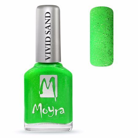 Moyra Nail Polish - SAND - Summer Green