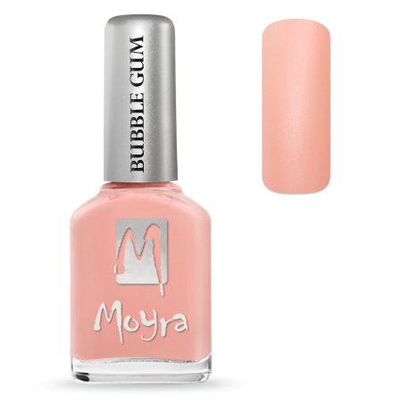 Moyra Nail Polish - BUBBLE GUM - Sweetie