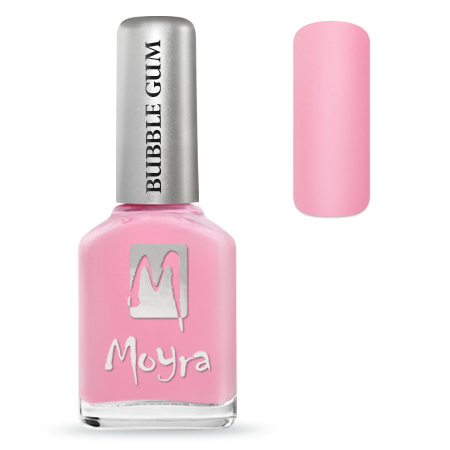 Moyra Nail Polish - BUBBLEGUM - Love Love