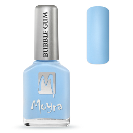 Moyra Nail Polish - BUBBLEGUM - Jelly Bean