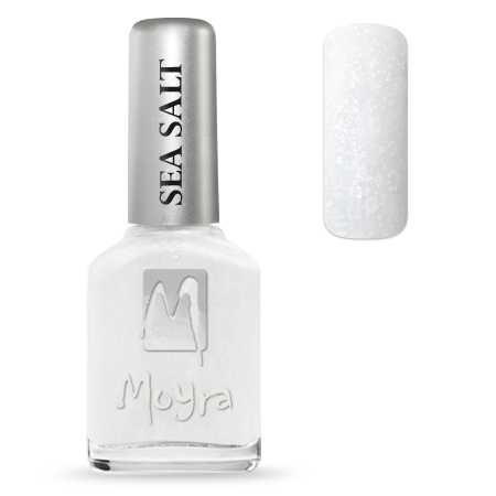 Moyra Nail Polish - SEA SALT - Pearl Drop