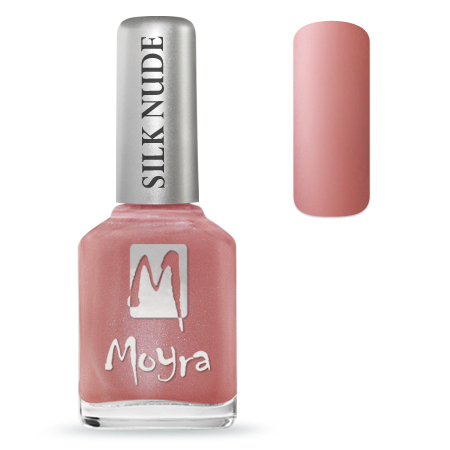 Moyra Nail Polish - SILK NUDE - Paris