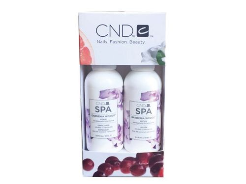 CND SPA Gardenia Woods SCRUB & LOTION 59ml
