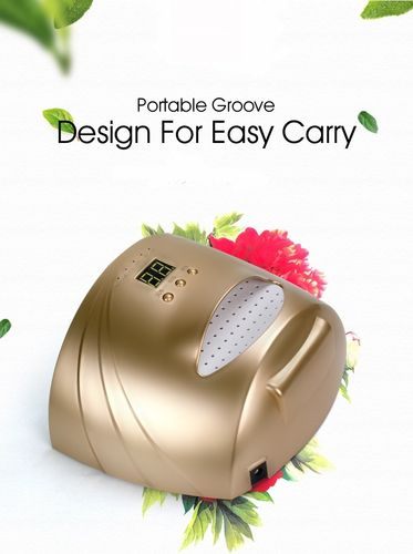 Portable and Wireless 48W UV/LED GOLD / WHITE