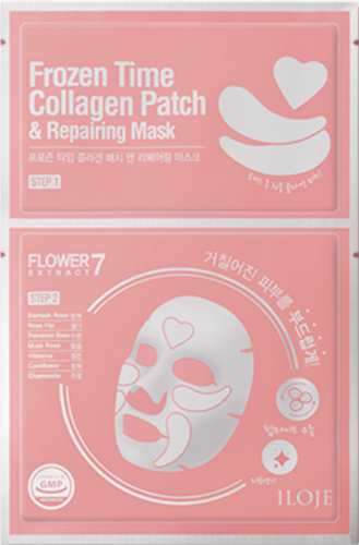 ILOJE Frozen Time COLLAGEN Patch & REPAIRING Mask