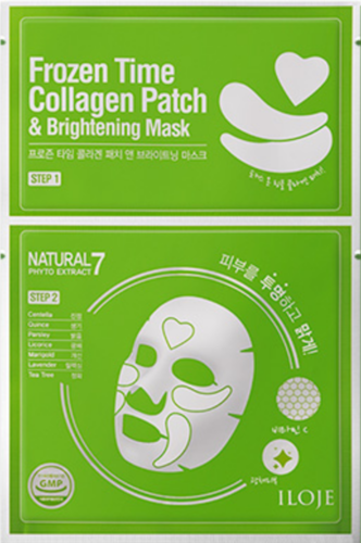 ILOJE Frozen Time COLLAGEN  Patch & BRIGHTENING Mask