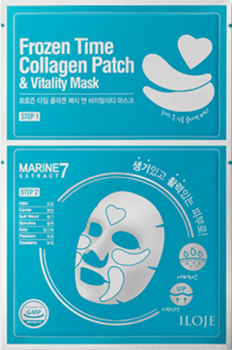 ILOJE Frozen Time COLLAGEN  Patch & VITALITY Mask
