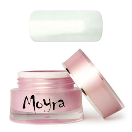 Moyra Supershine Colour Gel 502 SNOW (white)