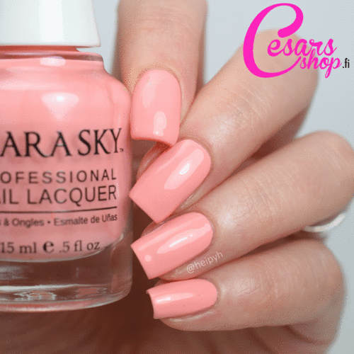 Kiara Sky Nail Polish - Electro Candy Collection - PEACHIN'