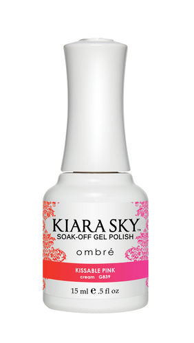 Kiara Sky Gel Polish - Ombre - KISSABLE PINK