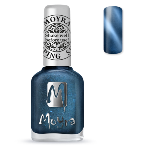 Moyra Cat Eye Leimauslakka / Kynsilakka SP33 MAGNETIC BLUE
