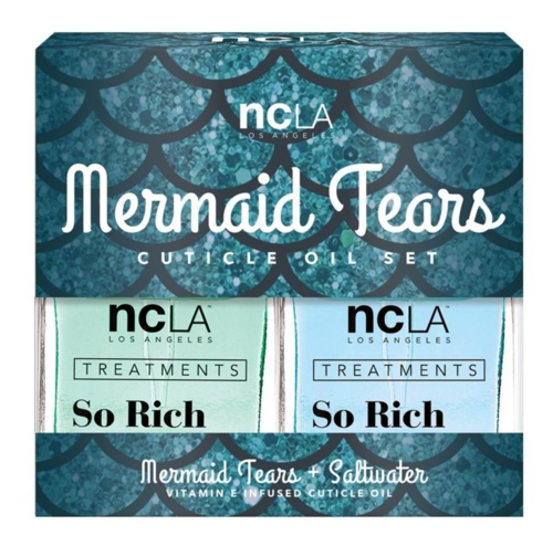 NCLA - Treatment - SO RICH - MERMAID TEARS - Cuticle Oil Set