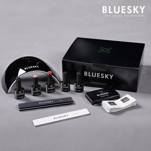 Bluesky Gel Polish Starter Kit with LED lamp
