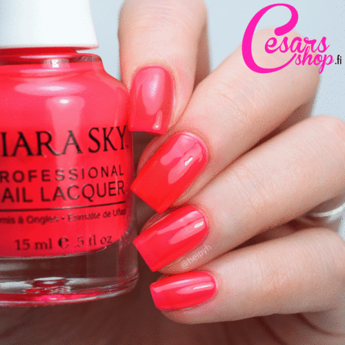 Kiara Sky Nail Polish - PINK PASSPORT