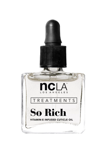NCLA - Treatment - SO RICH - COCONUT - Vitamin E Infused Cuticle Oil