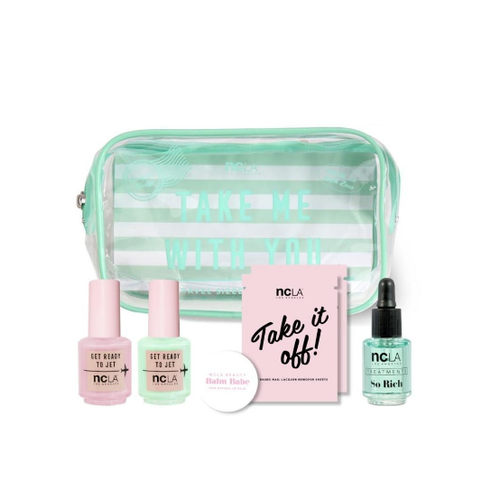 NCLA Travel Set - TAKE ME WITH YOU, MINT