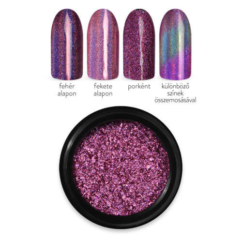 Moyra HOLO MIRROR POWDER ROSE 2.
