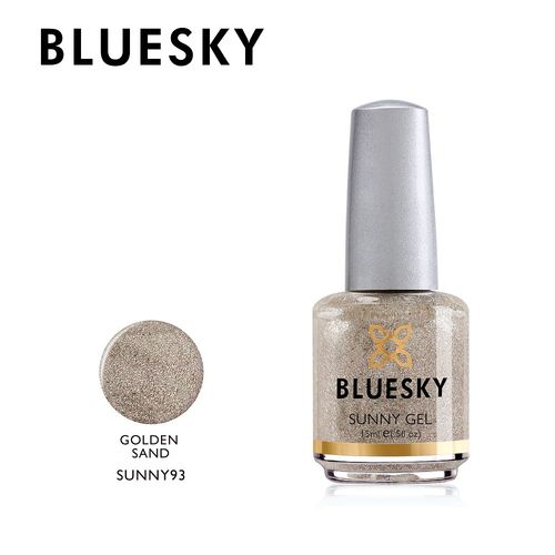 Bluesky Nail Polish - SUNNY GEL - GOLDEN SAND 15ml