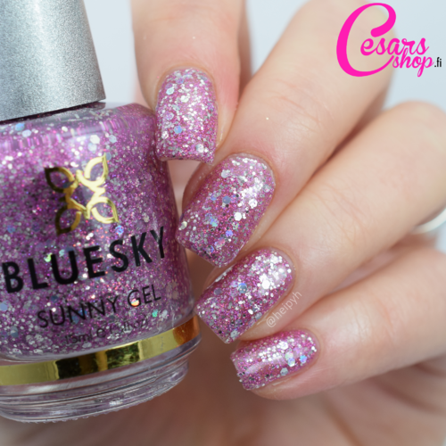 Bluesky Nail Polish - SUNNY GEL - RAZZLE DAZZLE 15ml