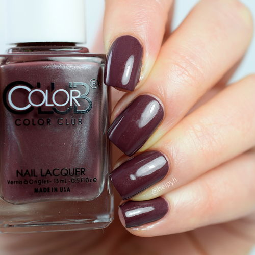 Color Club -  Wild Mulberry - WE'RE ROOTING FOR YOU