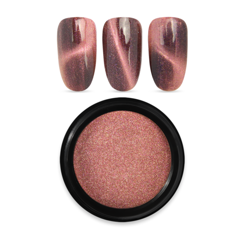 Moyra magnet-pigment powder 04 ROSE GOLD