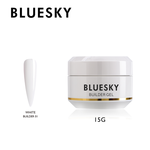 Bluesky Builder Gel 15ml - WHITE