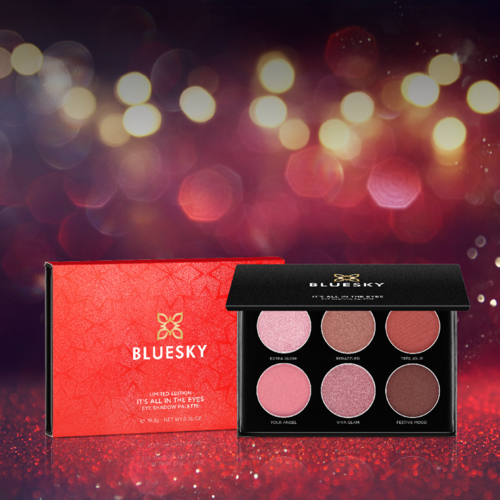 Bluesky Cosmetics Christmas Eye Shadow Palette - It's All In The Eyes
