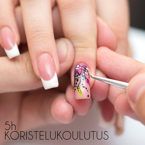 5 hour Nail Art Course 27.3.2021 11-16