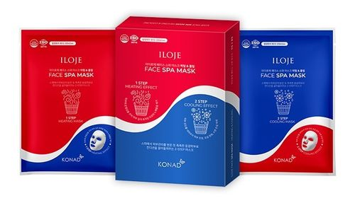 ILOJE Face Spa Mask-Heating & Cooling (6 naamiota)