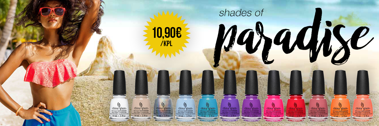 China Glaze: Shades of Paradise UUTUUS!